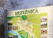 Tablica promocyjna wsi Brzeźnica