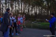 Mistrzostwa Powiatu Krośnieńskiego w sztafetowych biegach przełajowych